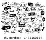 vintage doodle ampersands ... | Shutterstock .eps vector #1478160989