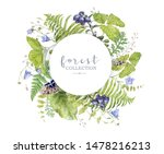 watercolor highly detailed... | Shutterstock . vector #1478216213