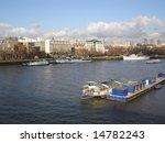 river thames in london | Shutterstock . vector #14782243
