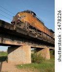 freight train crossing railroad ... | Shutterstock . vector #1478226