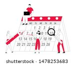 tiny businesspeople team at... | Shutterstock .eps vector #1478253683