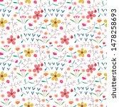 seamless pattern background...   Shutterstock .eps vector #1478258693