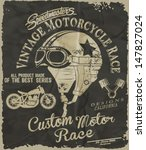 Vintage Race Car And Motorcycl...