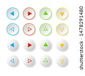 color icon button  arrow... | Shutterstock .eps vector #1478291480