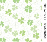 Vector Seamless Clover Pattern...