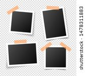 vintage photo frames. retro... | Shutterstock .eps vector #1478311883