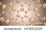 3d molecules vector design.... | Shutterstock .eps vector #1478313239