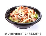 close up of take away bowl with ... | Shutterstock . vector #147833549