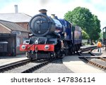 didcot  uk   july 13. preserved ... | Shutterstock . vector #147836114
