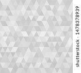 triangular  low poly  mosaic... | Shutterstock . vector #1478378939
