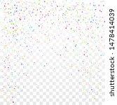 festive colorful star confetti...   Shutterstock .eps vector #1478414039