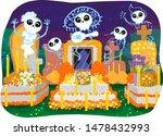 illustration of spirits having...   Shutterstock .eps vector #1478432993