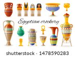 Pottery Craft. Egyptian...