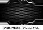 abstract silver light on dark... | Shutterstock .eps vector #1478615933