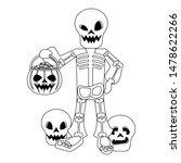 halloween october scary...   Shutterstock .eps vector #1478622266