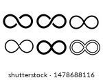 infinity eternity symbol in... | Shutterstock .eps vector #1478688116