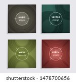 cool plate music album covers... | Shutterstock .eps vector #1478700656