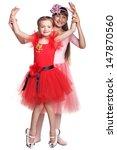 two ballerinas | Shutterstock . vector #147870560