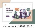 digital investment concept...