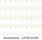 elegant art nouveau seamless...   Shutterstock .eps vector #1478721050