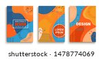abstract set of fun doodle... | Shutterstock .eps vector #1478774069