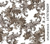 seamless classic pattern with...   Shutterstock .eps vector #1478780609