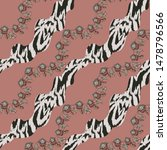 traditional paisley pattern.... | Shutterstock .eps vector #1478796566
