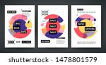 set template design of sale and ... | Shutterstock .eps vector #1478801579