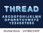 blue abstract artistic font... | Shutterstock .eps vector #1478821409