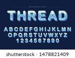 blue abstract artistic font... | Shutterstock .eps vector #1478821409