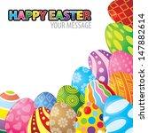 vector illustration of easter...   Shutterstock .eps vector #147882614