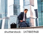 successful businessman... | Shutterstock . vector #147885968