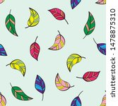 beautiful seamless pattern with ...   Shutterstock .eps vector #1478875310