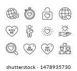 set of love icons  such as be... | Shutterstock .eps vector #1478935730