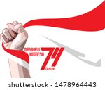 17 august  independence day of...   Shutterstock .eps vector #1478964443