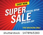 super sale shop now word...
