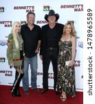 """Small photo of LOS ANGELES - AUG 13: Gwen Stefani, Blake Shelton, Trace Adkins, Victorial Pratt at the """"Bennett's War"""" Los Angeles Premiere at the Warner Brothers Studios on August 13, 2019 in Burbank, CA"""