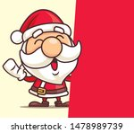 merry christmas santa claus...   Shutterstock .eps vector #1478989739