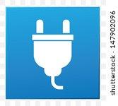 plug symbol vector | Shutterstock .eps vector #147902096