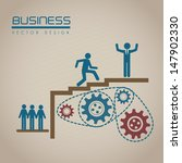 business design over beige... | Shutterstock .eps vector #147902330