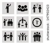 teamwork design over white... | Shutterstock .eps vector #147902423