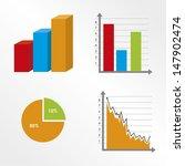 statistics design over white