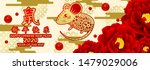 happy chinese new year 2020 rat ... | Shutterstock .eps vector #1479029006