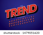 vector of stylized modern font... | Shutterstock .eps vector #1479051620