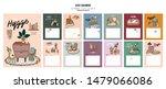 wall calendar. 2020 yearly... | Shutterstock .eps vector #1479066086