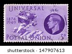 united kingdom   circa 1949  a... | Shutterstock . vector #147907613