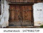 Old Wooden Textured Big Doors ...