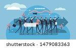leave vector illustration. flat ... | Shutterstock .eps vector #1479083363