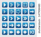 arrow pictogram | Shutterstock .eps vector #147908480