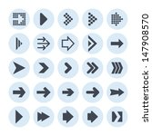 arrow icons | Shutterstock .eps vector #147908570